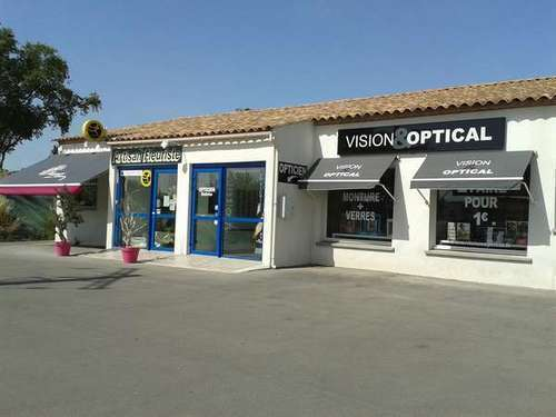 Opticien : VISION&OPTICAL, 14 ch de calvisson, 30620 BERNIS
